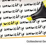 (UN)WICHTIG – 2 – Fokussierung aber wie?